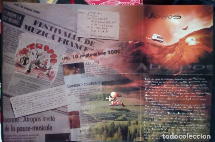 CDs de Música: ATROPOS A LA RENCONTRE DU 3 ÈME TYPE ALBUM CD AUTOEDICIÓN (JAZZ -FUSIÓN ÁFRICA MARRUECOS) - Foto 4 - 183605250