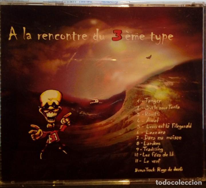 CDs de Música: ATROPOS A LA RENCONTRE DU 3 ÈME TYPE ALBUM CD AUTOEDICIÓN (JAZZ -FUSIÓN ÁFRICA MARRUECOS) - Foto 5 - 183605250