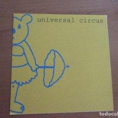 CDs de Música: UNIVERSAL CIRCUS MAQUETA DEMO INDIE 6 CANCIONES AUTOMATICS CON CARTA MANUSCRITA. Lote 183608542