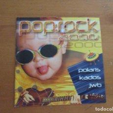 CDs de Música: POP ROCK 2000 POLARIS KADOS JWB SAMPLER EDITADO POR EL INSTITUTO NAVARRO DE DEPORTE Y JUVENTUD. Lote 183609701