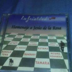CDs de Música: CD TU FRIALDAD, HOMENAJE A JESUS DE LA ROSA. Lote 183618300