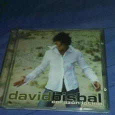 CDs de Música: CD DAVID BISBAL, CORZON LATINO. Lote 183618703