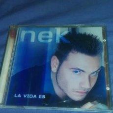 CDs de Música: CD NEK, LA VIDA ES. Lote 183619606