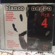 CDs de Música: BLANCO Y NEGRO MIX 4 DOBLE ALBUM 1997 ALEXIA SASH PARADISIO N-TRANCE GALA CHASIS 23 TEMAS 2 CD. Lote 183619758