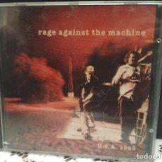 CDs de Música: CD - RAGE AGAINST THE MACHINE - USA 1993 (CD, LIVE STORM RECORDS 1994). Lote 183620311