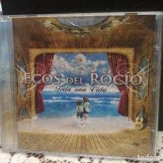 CDs de Música: ECOS DEL ROCIO TODA UNA VIDA CD ALBUM 2012. Lote 183621925