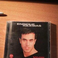 CDs de Música: CD ENRIQUE IGLESIAS, VIVIR. Lote 183622033