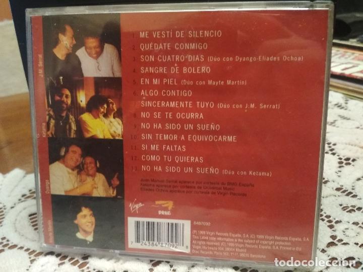 CDs de Música: MONCHO - QUÉDATE CONMIGO -CD 1999 - 13 CANCIONES - DUOS CON SERRAT-KETAMA-DYANGO-MAYTE MARTIN PEPETO - Foto 2 - 183622091