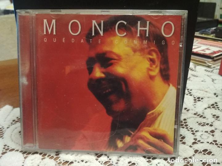 MONCHO - QUÉDATE CONMIGO -CD 1999 - 13 CANCIONES - DUOS CON SERRAT-KETAMA-DYANGO-MAYTE MARTIN PEPETO (Música - CD's Latina)