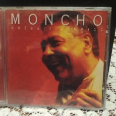 CDs de Música: MONCHO - QUÉDATE CONMIGO - CD 1999 - 13 CANCIONES - DUOS CON SERRAT-KETAMA-DYANGO-MAYTE MARTIN . Lote 183622091