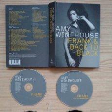 CDs de Música: AMY WINEHOUSE - FRANK & BACK TO BLACK - 4 CD + LIBRETO. Lote 183622868