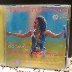 CDs de Música: MAGARETH MENEZES AO VIVO FESTIVAL DE VERANO SALVADOR CD BRASIL . Lote 183622900