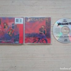 CDs de Música: MEGADETH - PEACE SELLS... BUT WHO'S BUYING CD. Lote 183625140