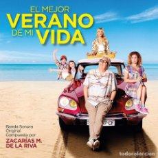 CDs de Música: EL MEJOR VERANO DE MI VIDA / ZACARÍAS M. DE LA RIVA CD BSO. Lote 183626088