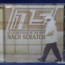 CDs de Música: NACH SCRATCH - EN LA BREVEDAD DE LOS DIAS - CD. Lote 183646641