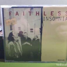 CDs de Música: FAITHLESS - INSOMNIA - MAXI - 1995 - COMPRA MÍNIMA 3 EUROS. Lote 183686952