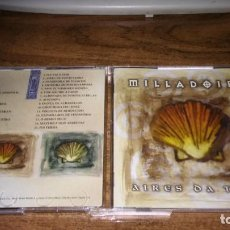 CDs de Música: MILLADOIRO - AIRES DA TERRA (2CD 1999). Lote 183695312