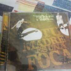 CDs de Música: TOTE KING & SHOTTA / CD / TU MADRE ES UNA FOCA / RAP /. Lote 183713550