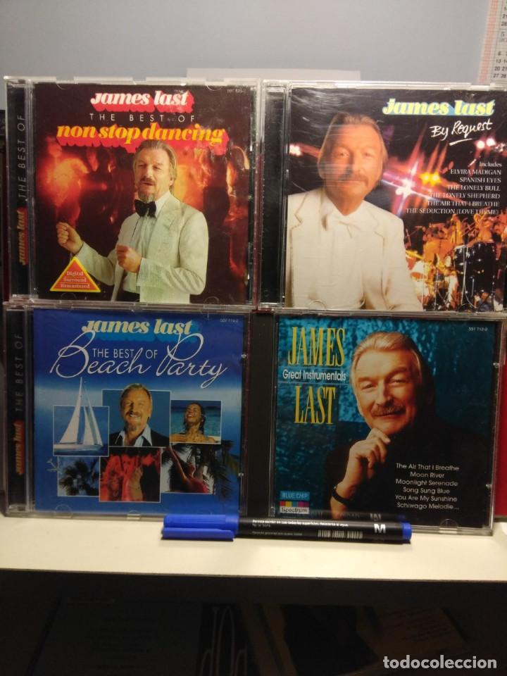 JAMES LAST Y SU ORQUESTA : LOTE DE 7 CD'S (BEST NON STOP DANCING + BEACH PARTY + PARADIESVOGUEL +ETC (Música - CD's Melódica )