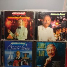 CDs de Música: JAMES LAST Y SU ORQUESTA : LOTE DE 7 CD'S (BEST NON STOP DANCING + BEACH PARTY + PARADIESVOGUEL +ETC. Lote 183727798