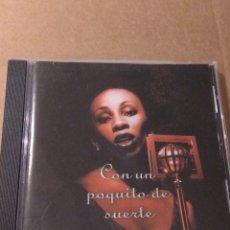 CDs de Música: CON UN POQUITO DE SUERTE CD. Lote 183734872