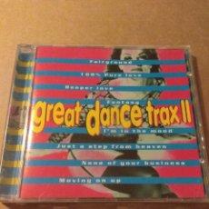 CDs de Música: GREAT DANCE TRAX II CD. Lote 183737813
