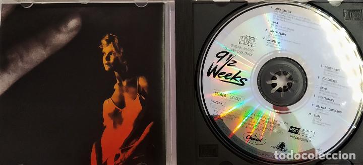 CDs de Música: CD 9 semanas y media (BSO) - varios, España 1993, Capitol Records – CD-001 (EX_EX) - Foto 5 - 183740183