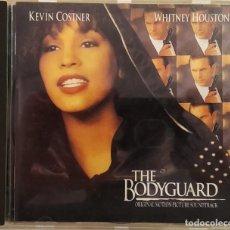CDs de Música: CD WHITNEY HOUSTON - EL GUARDAESPALDAS (BSO), ESPAÑA 1992, ARISTA – 07822 18699 2 (EX_EX) . Lote 183740302