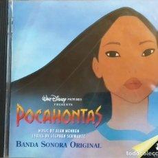 CDs de Música: CD ALAN MENKEN, STEPHEN SCHWARTZ – POCAHONTAS (BSO), ESPAÑA 1995 MUY BUEN ESTADO (EX_EX). Lote 183740420
