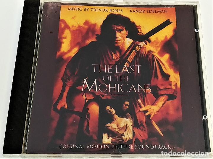 CD EL ÚLTIMO MOHICANO, THE LAST OF THE MOHICANS- TREVOR JONES Y RANDY EDELMAN,1992, MUY BIEN (EX_EX) (Música - CD's Bandas Sonoras)