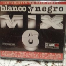 CDs de Música: BLANCO Y NEGRO MIX 6 TRIPLE CD DEL AÑO 1999 REMIXES QUIM QUER 52 TEMAS DE MUSICA DISCO DANCE 3 CD. Lote 183741842