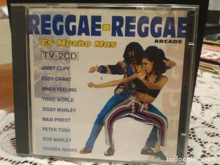 REGGAE - REGGAE ES MUCHO MAS - 2 CD ARCADE 1993 BOB MARLEY JIMMY CLIFF PETER TOSH RITA MARLEY PEPETO (Música - CD's Reggae)