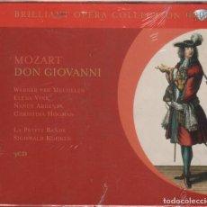 CDs de Música: MOZART: DON GIOVANNI 3 CDS NUEVO PRECINTADO LA PETITE BANDE SIGISWALD KUIJKEN . Lote 183759725
