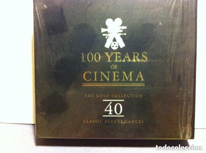 100 YEARS OF CINEMA - 2 CD - 40 CANCIONES (Música - CD's Bandas Sonoras)