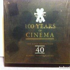 CDs de Música: 100 YEARS OF CINEMA - 2 CD - 40 CANCIONES. Lote 183761391