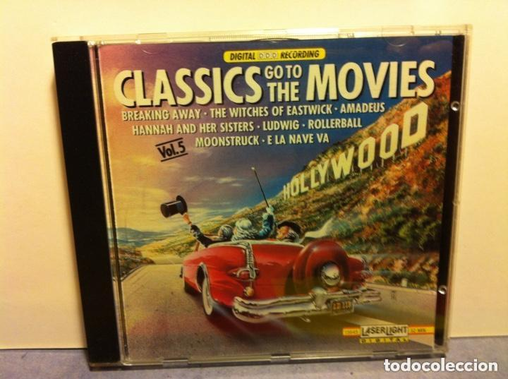 CLASSICS GO TO THE MOVIES (Música - CD's Bandas Sonoras)