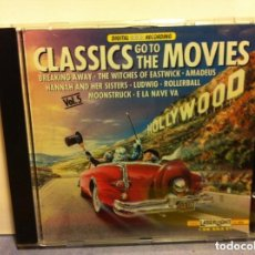 CDs de Música: CLASSICS GO TO THE MOVIES. Lote 183761517