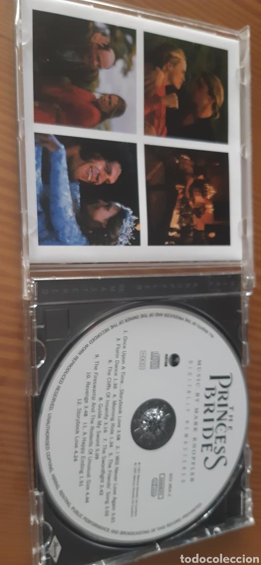 CDs de Música: Edicion Uk ,especial remasterizada de 1997,LA PRINCESA PROMETIDA,Música de MARK KNOPFLER - Foto 2 - 183762201