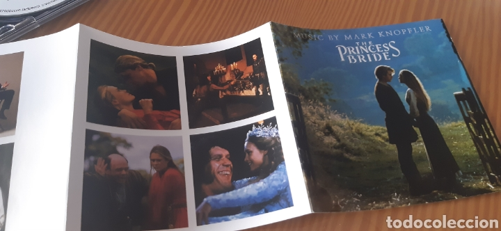 CDs de Música: Edicion Uk ,especial remasterizada de 1997,LA PRINCESA PROMETIDA,Música de MARK KNOPFLER - Foto 7 - 183762201