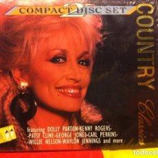 CDs de Música: COUNTRY CLASSICS - SET 2 DISCOS. Lote 183762483