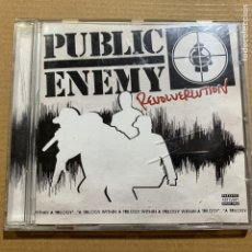 CDs de Música: CD PUBLIC ENEMY REVOLVERLUTION. Lote 183772555