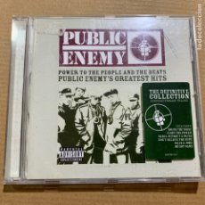 CDs de Música: CD PUBLIC ENEMY POWER TO THE PEOPLE AND THE BEATS. Lote 183772666