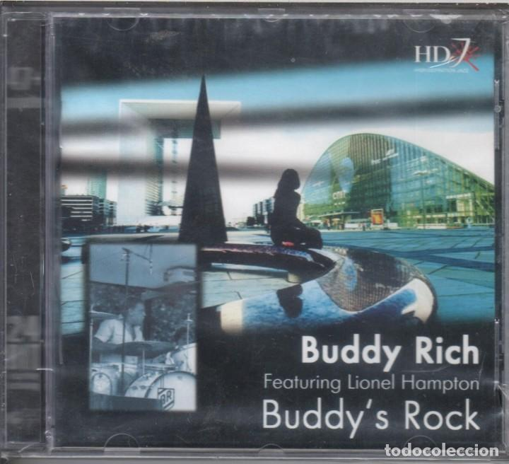 BUDDY'S ROCK. BUDDY RICH, LIONEL HAMPTON NUEVO PRECINTADO (Música - CD's Jazz, Blues, Soul y Gospel)
