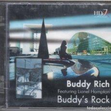 CDs de Música: BUDDY'S ROCK. BUDDY RICH, LIONEL HAMPTON NUEVO PRECINTADO. Lote 183775815