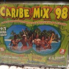 CDs de Música: CARIBE MIX 98 TRIPLE CD LOS INHUMANOS AMICA BOC HABANA CLUB BAND THE BOSS PACHU 3 CD PEPETO. Lote 183776251