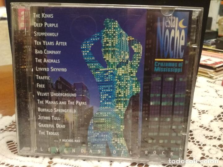 ESTA NOCHE CRUZAMOS EL MISSISSIPPI. DOBLE CD 1996 PEPETO (Música - CD's Rock)