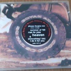 CDs de Música: CD BRYAN ADAMS,SO FAR SO GOOD,THE BEST OF...UK 2003. Lote 183782191