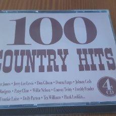 CDs de Música: CD 100 COUNTRY HITS,ATENCIÓN!!FALTA EL DISCO 4. Lote 183782928