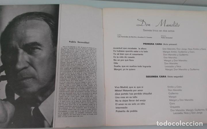 CDs de Música: Coleccion Zarzuelas en Vinilo - Foto 5 - 183783752