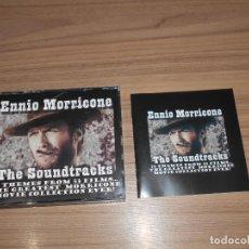 CDs de Música: ENNIO MORRICONE THE SOUNDTRACKS 5 CD COLECCION DEFINITIVA ALBUM COMPLETO 5 CD 75 TEMAS COMO NUEVO. Lote 183792932